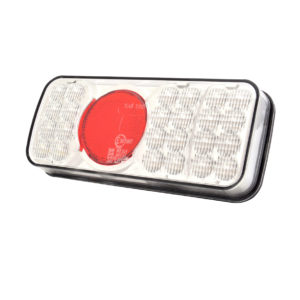 Jolt LED Tail Light with clear lens and reverse