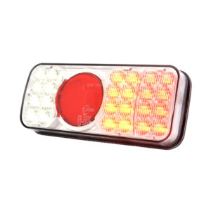 Jolt LED Tail Light with colour lens and reverse light