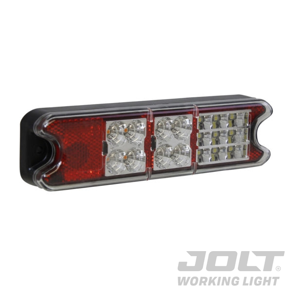Jolt LED tail light with reflector