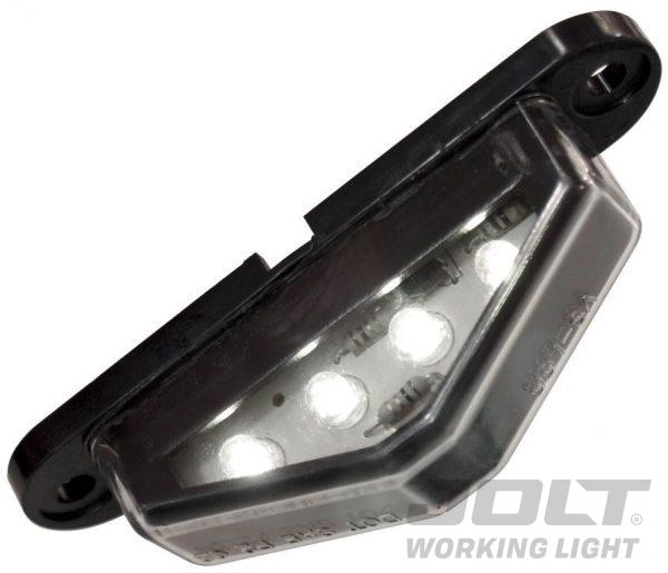 Jolt 3 LED Number Plate Light slimline