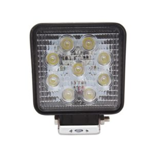 Jolt 27W Square 9LED Work Light wide flood beam