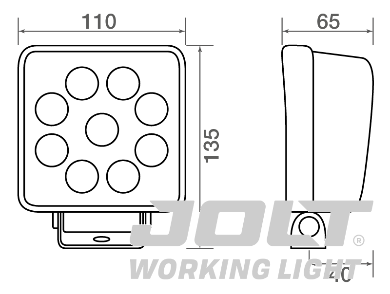 TXL9526L dimensions
