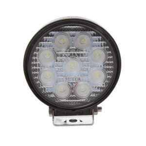 Jolt 27W Round 9 LED Work Light - Narrow Flood Beam