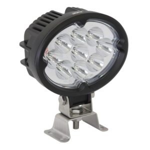 Jolt 27W Oval 9xCree LED Work Light narrow flood