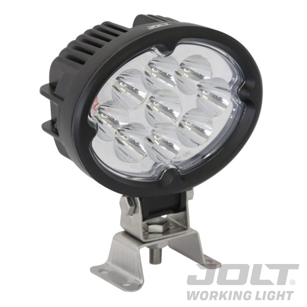 Jolt 27W Oval 9xCree LED Work Light narrow flood
