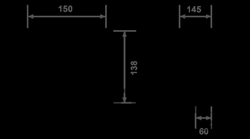 TXL9537L dimensions