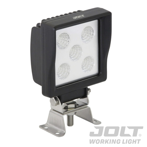 Jolt 15W Square 5LED Work Light