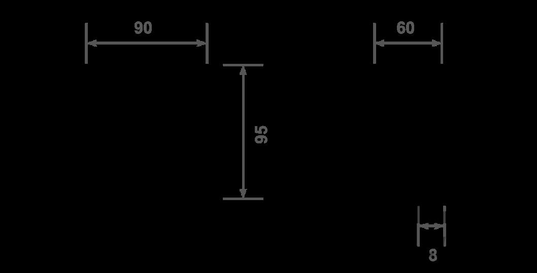 TXL9575L dimensions