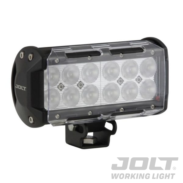 Jolt 36W 12xLED Light Bar narrow flood beam