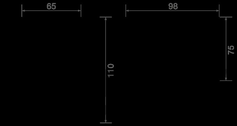 TXLB006A dimensions
