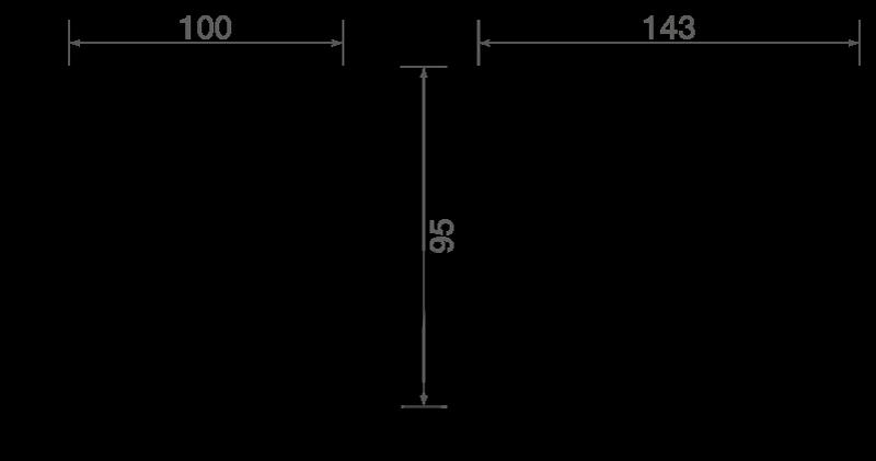 TXLB010AM dimensions