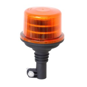Medium Jolt LED Amber Beacon pole mount