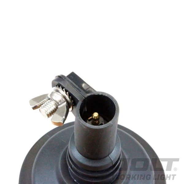 Medium Jolt LED Amber Beacon pole mount