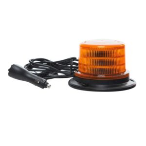 Medium Jolt LED Amber Beacon magnetic base