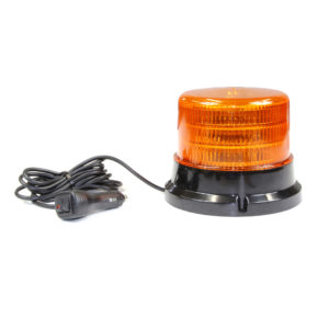 Jolt Large LED Amber Flash Beacon magnetic base