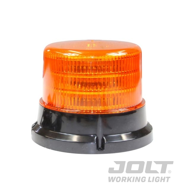 Large LED Amber Flash Beacon bolt on