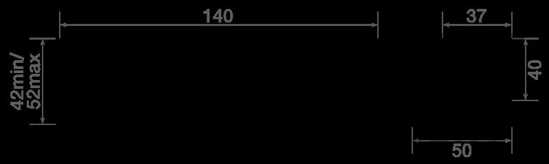 TXLB30AR dimensions